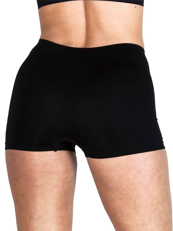 3b730fe0c07b Love My Fashions® Womens Underwear Plain High Waist Ladies Seamless Stretch  Boxer Shorts S M L XL XXL Plus Size: Amazon.co.uk: Clothing