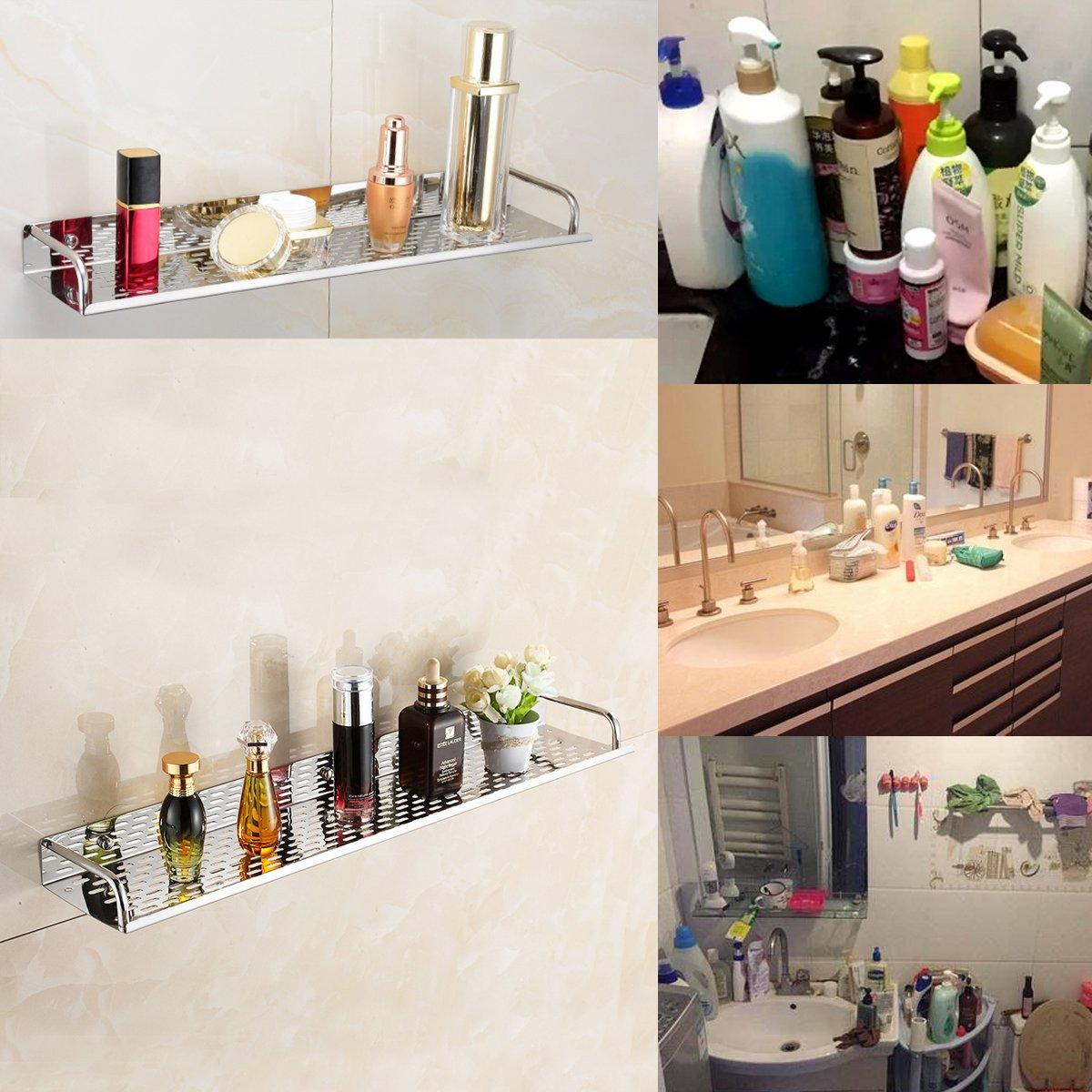 ounona ba/ño estante organizador de ducha caddy soporte con gancho para colgar