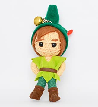 Amazon.com: (vd011) Peter Pan Cute Handmade Cadena Llavero ...