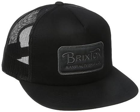 c0db5cbdd846f ... clearance brixton mens grade high profile adjustable mesh hat black  charcoal one size 0311c 6d287