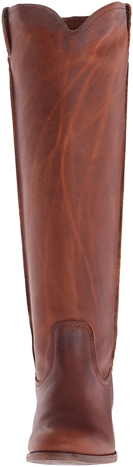 FRYE Women's Cara Tall Leather Slouch Boot B01AAA9YTW 9 B(M) US|Cognac Extended Calf