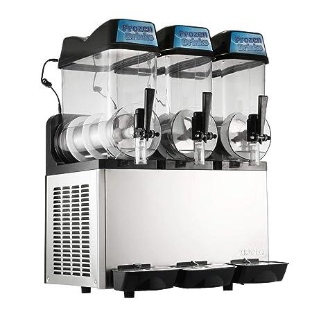 Moracle Máquina de Bebidas Congeladas Máquina de Granizados 3x12L ...