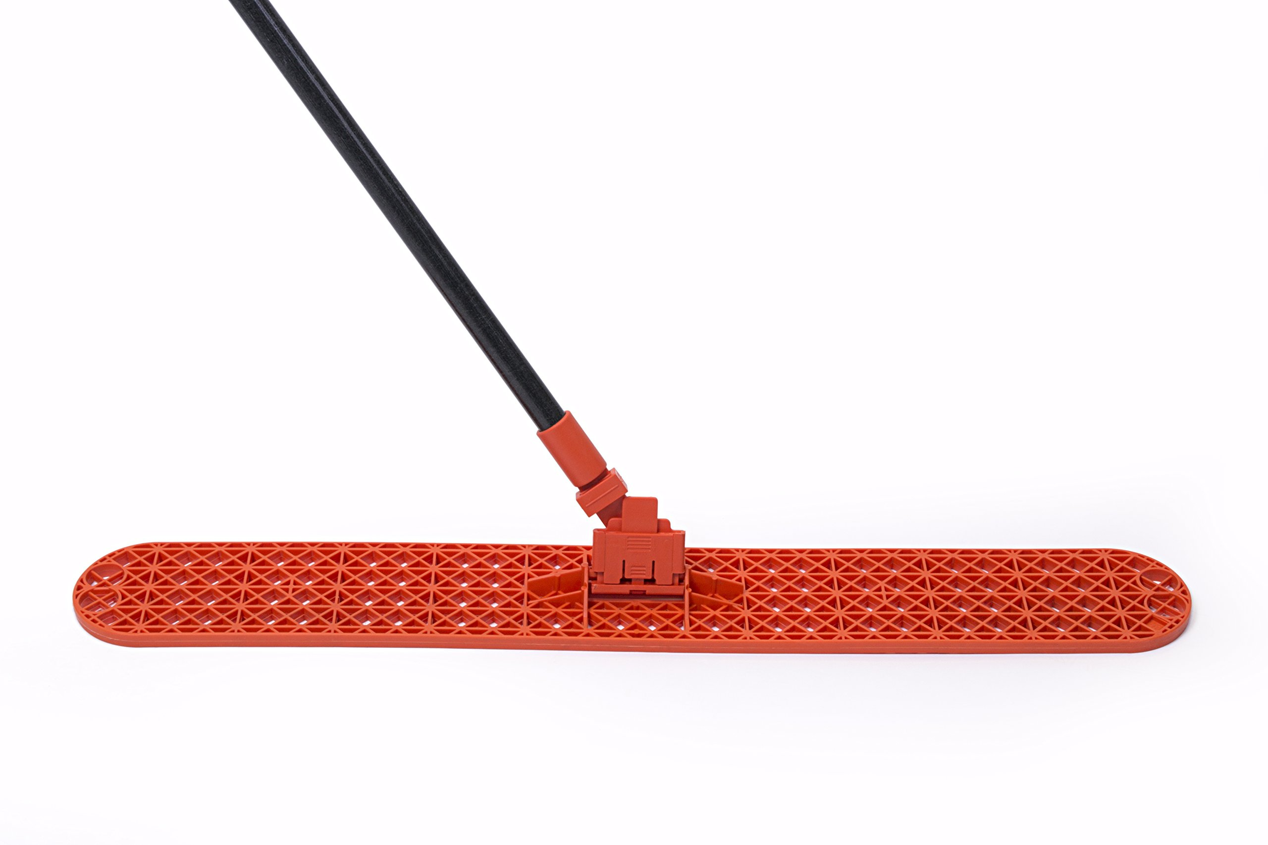 Dust Mop Frame Connector with Fiberglass Handle (Box of 12)