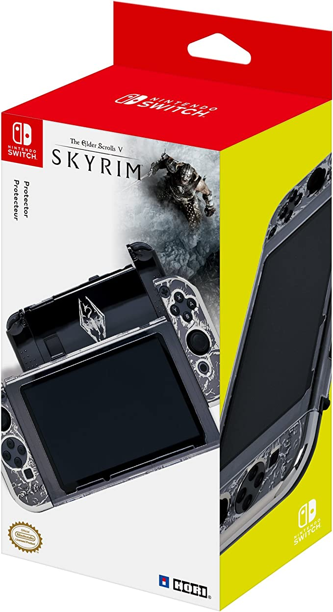 Hori - Carcasa Snap & Go Skyrim (Nintendo Switch): Amazon.es ...