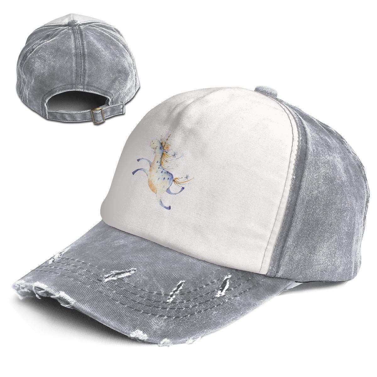 Amazon.com  Fashion Vintage Hat Unicorn Watercolor Adjustable Dad Hat  Baseball Cowboy Cap  Clothing 26d5d4abc8da