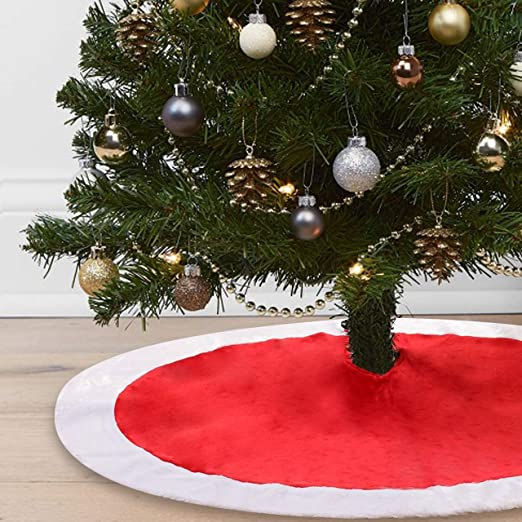 Cotill Decoración para Falda de árbol de Navidad de 122 cm, Color ...