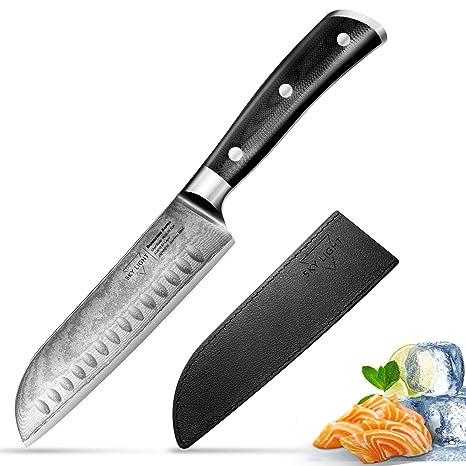 Amazon.com: Cuchillo de chef y cuchillo Santoku de cocina ...