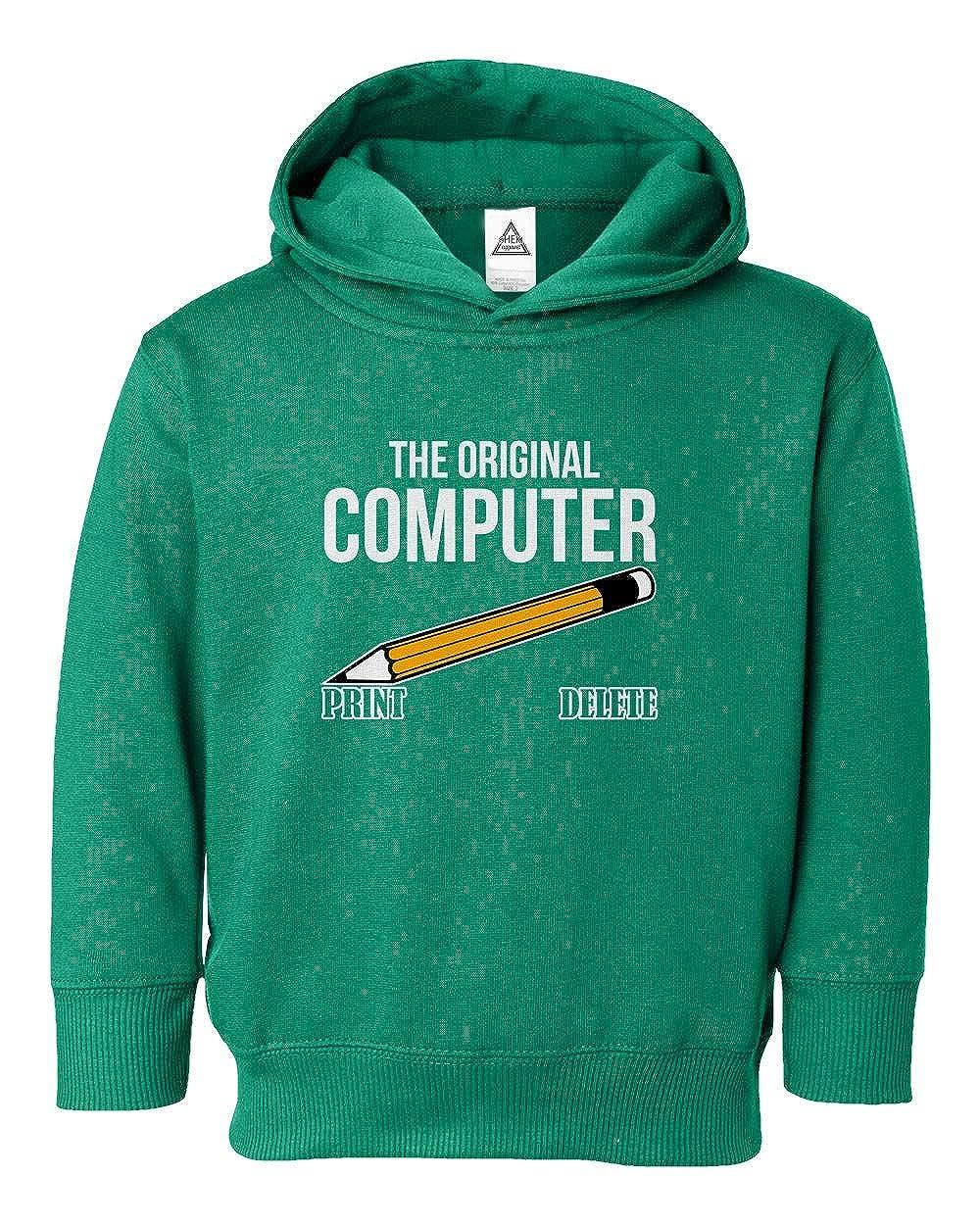 The Original Computer Geek Nerd Little Kids Hoodie Toddler Sweatshirt