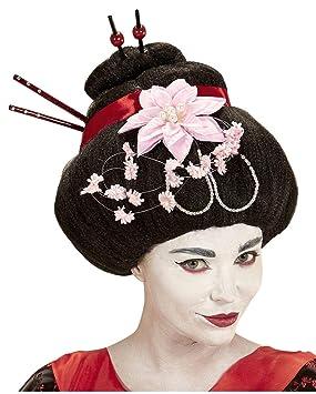 Horror-Shop peluca geisha Noble: Amazon.es: Juguetes y juegos