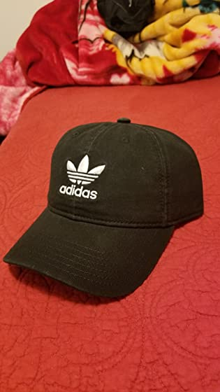 adidas Men's Originals Relaxed Strapback Cap smh fabric look worn and old