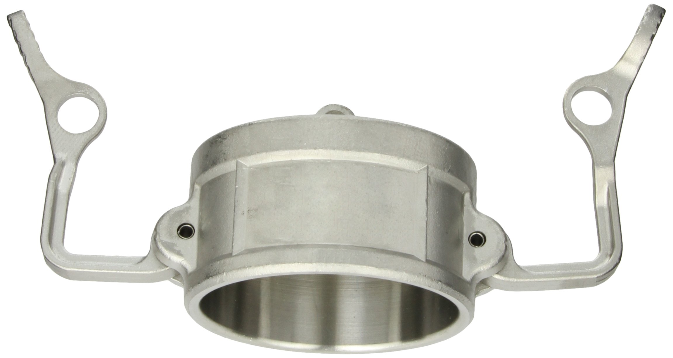 Dixon 300DC-LSS Stainless Steel 316 Cam and Groove Hose Fitting, Lockable Dust Cap, 3''