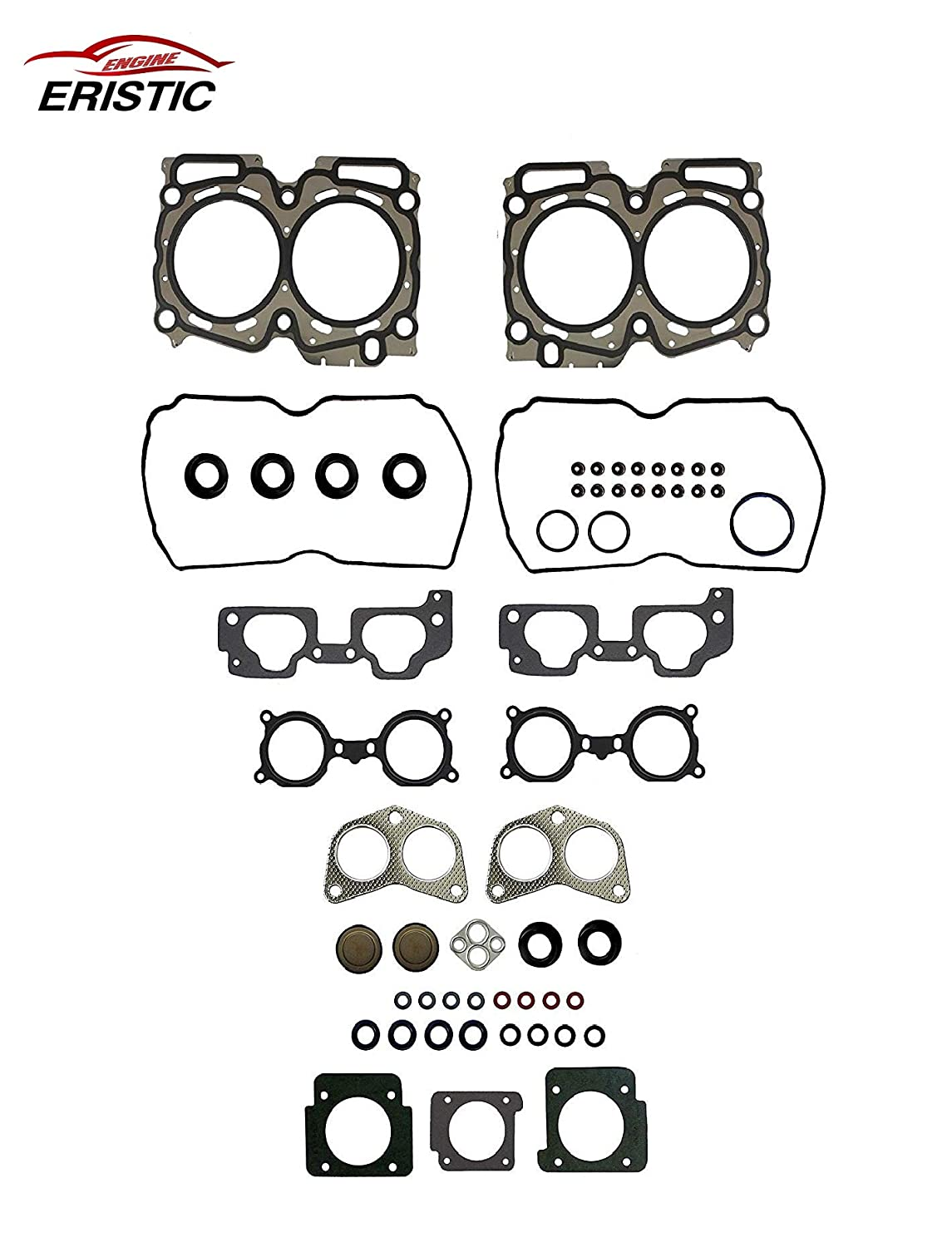 ERISTIC EH7227 Head Gasket Set For Subaru 2006-2011 Forester 2006-2011 Impreza 2006-2010 Legacy 2006-2011 Outback