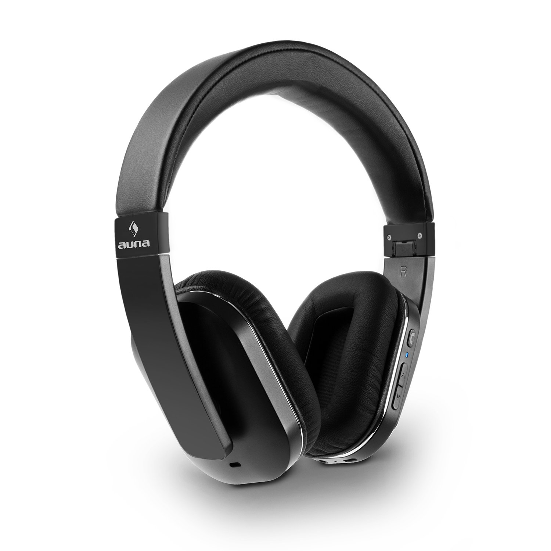 auna Elegance • Auriculares Bluetooth • Cascos Bluetooth • Auriculares inalámbricos • Bluetooth 4.0 • AptX • Función Manos-libres • NFC • Batería ion de ...