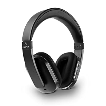 auna Elegance • Auriculares Bluetooth • Cascos Bluetooth • Auriculares inalámbricos • Bluetooth 4.0 • AptX