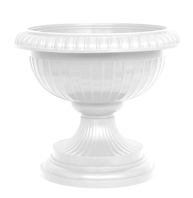 /Maceta Carcasa r/ígida Jarr/ón blanco H 56/cm Milano Maceta copa decorativa /Ánfora/