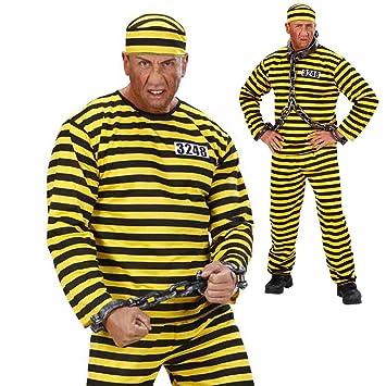 Disfraz de prisionero, para fiesta de despedida de soltero ...