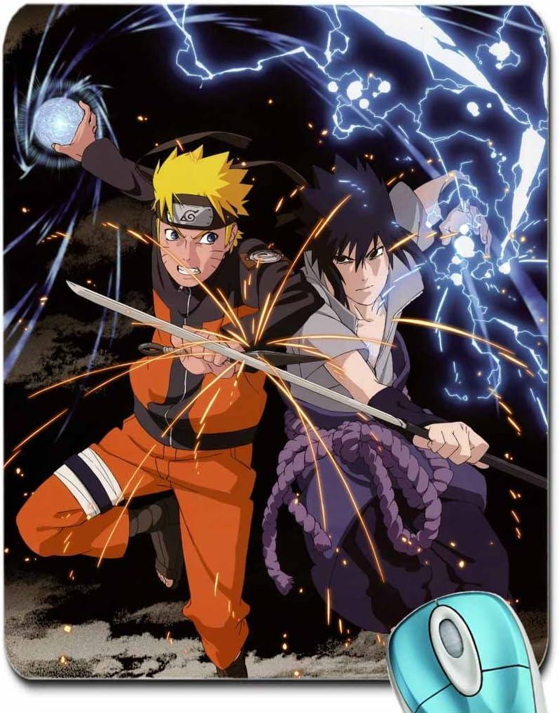 Amazon Com Anime Itachi Uchiha Sasuke Naruto Shippuden Calendario Uzumaki Naruto Rasengan Chidori 3941 X 5644 Wallpaper Mouse Pad Computer Mousepad Computers Accessories