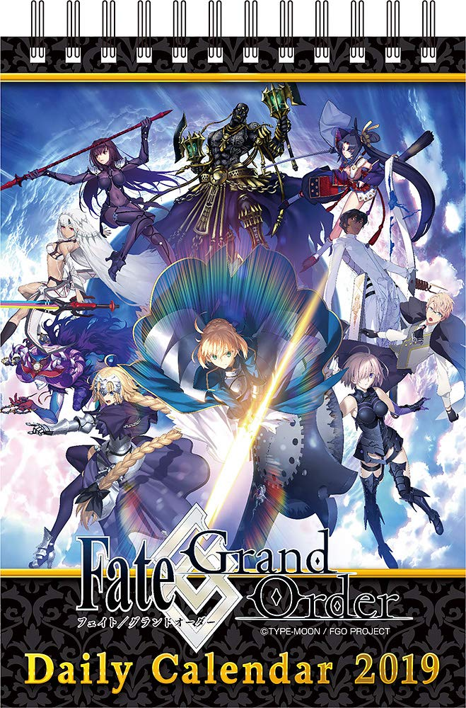 Fate/Grand Order 2019 Daily Desktop Calendario Calendar Desktop Calendar Calendario Desktop de Mesa Escritorio Oficial Anime 2019 [Oficial] [Japan Import] (184 Pages) c2facc