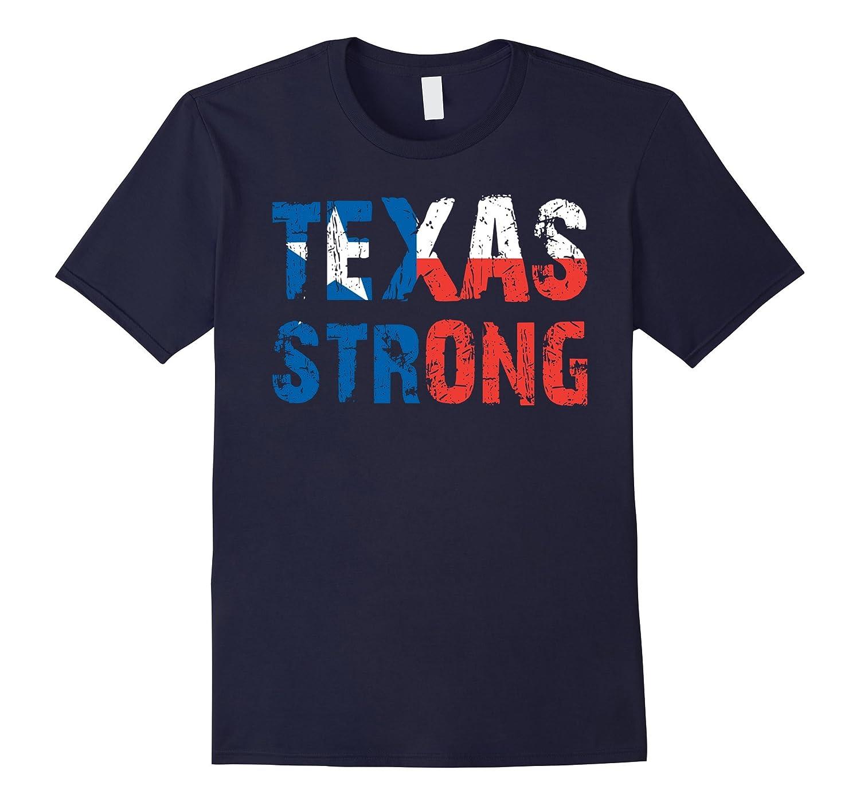 Texas Strong tshirt Support Texas Distressed Flag T-Shirt-FL