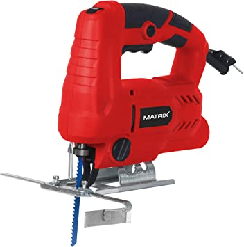 Matrix 130100270 - Sierra de calar eléctrica (650 W, 3000 revoluciones por minuto, péndulo, incluye hojas de sierra, adaptador para aspiradora, W, 230 V): Amazon.es: Bricolaje y herramientas