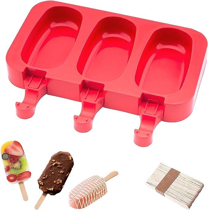 Amazon.com: Molde de silicona para helado de Beicemania sin ...