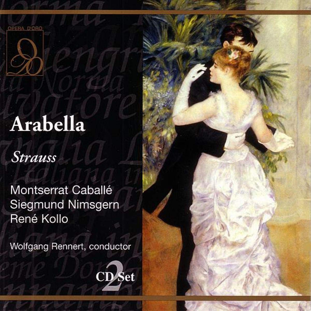 Strauss Low price - Arabella Caballé Miljakovic New product!! Kollo Moll