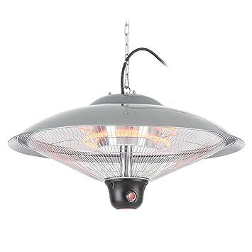 Duramaxx Heizsporn Radiador techo (infrarrojo, paraguas reflector 60,5 cm (Ø)