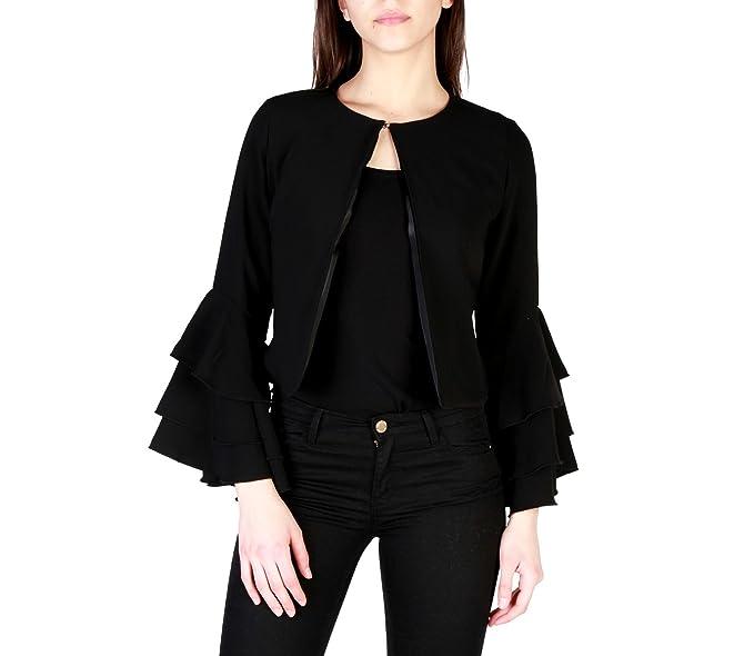 Miss Miss 39454 Chaqueta de traje Mujer Negro S: Amazon.es ...