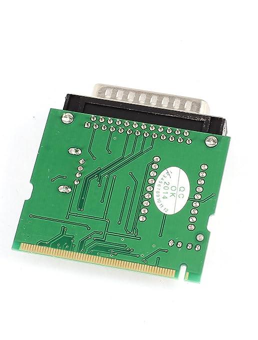 Amazon.com: eDealMax DB25 Mini-PCI DE 2 tarjeta de la prueba de diagnóstico de la placa Madre Para el ordenador portátil del dígito: Electronics
