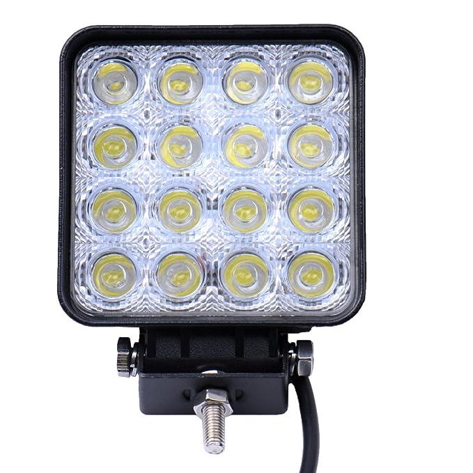 LED Arbeitsscheinwerfer Scheinwerfer Arbeitslicht Offroad Bagger KFZ SUV 2X 27W