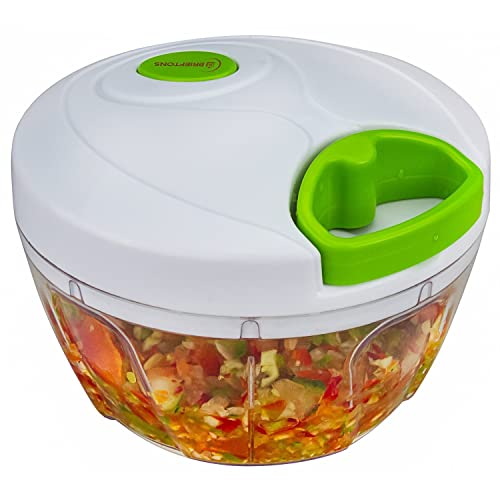 Brieftons Manual Food Chopper, Compact Vegetable Chopper