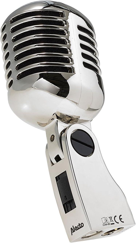 awstroe Externes Mikrofon mit Flexiblem Schwanenhals Stehmikrofon f/ür den Desktop 3,5mm Stereo Karaoke Mikrofon mit Buchse Schwarz