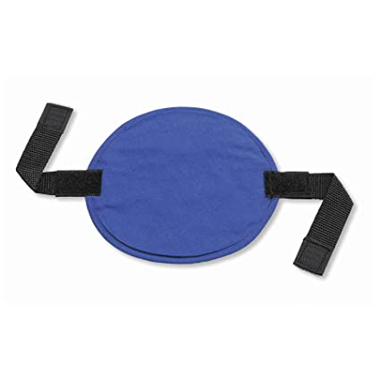 Ergodyne Chill-Its 6715 Evaporative Polymer Cooling Interior Hard Hat Pad Solid Blue