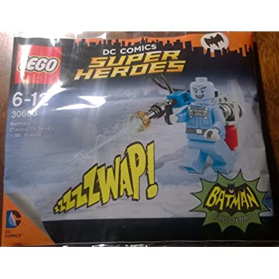 LEGO Batman 1966 Mr.Freeze 30603 Polybag Minifigure: Toys & Games