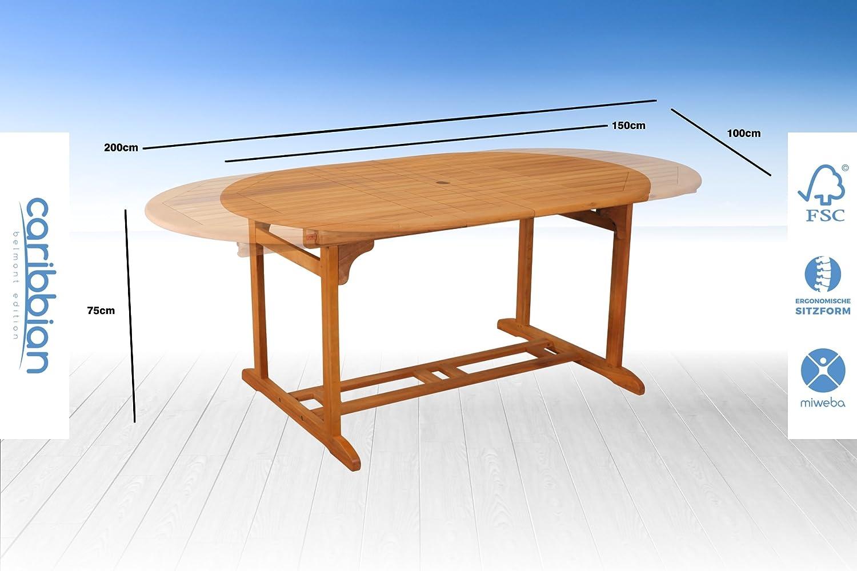 Amazon.de: Sitzgruppe Belmont Gartenset Sitzgarnitur Holz ...