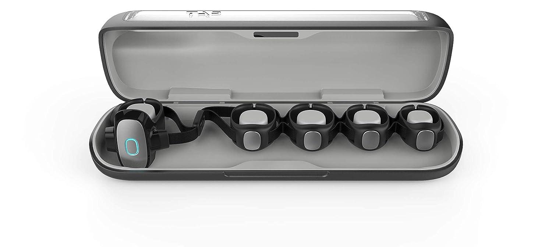 Tap Strap Bluetooth Enabled Wearable Keyboard & Mouse, Cross Platform  Controller for Smartphone, Tablet, PC, Laptop & SmartTV, Black (Large)