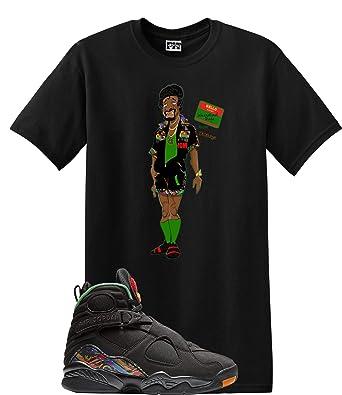 d22749508c7ee1 We Will Fit Jerome Shirt Jordan Retro 8 Tinker AIR RAID Concord Aloe (Small)