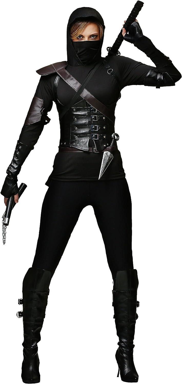 Ninja Assassin Costume for Women Womens Ninja Costume Set