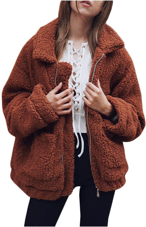 Beautifullight Great NEW New Winter Leisure Loose Hooded Cardigan Coat Plush Coat Quality Control