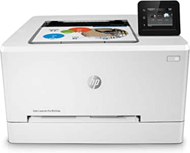HP Color LaserJet Pro M255dw Wireless Laser Printer, Remote Mobile Print, Duplex Printing, Works with Alexa (7KW64A)