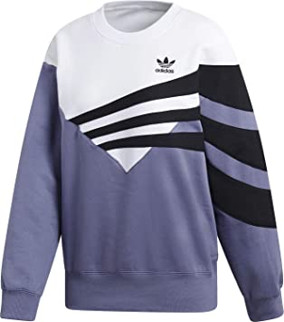 adidas Originals Damen Pullover diagonal Indigo 34: Amazon