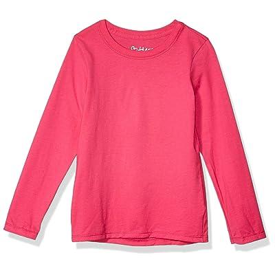 Hanes Big Girls' ComfortSoft Long Sleeve Tee at Women's Clothing store