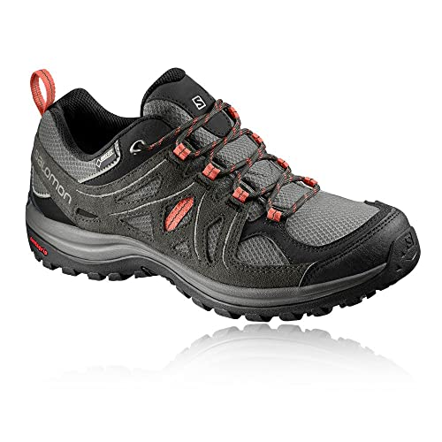 Salomon Women's Ellipse 2 GTX W Low Rise Hiking Shoes, Multicolor (Castor  GRA/