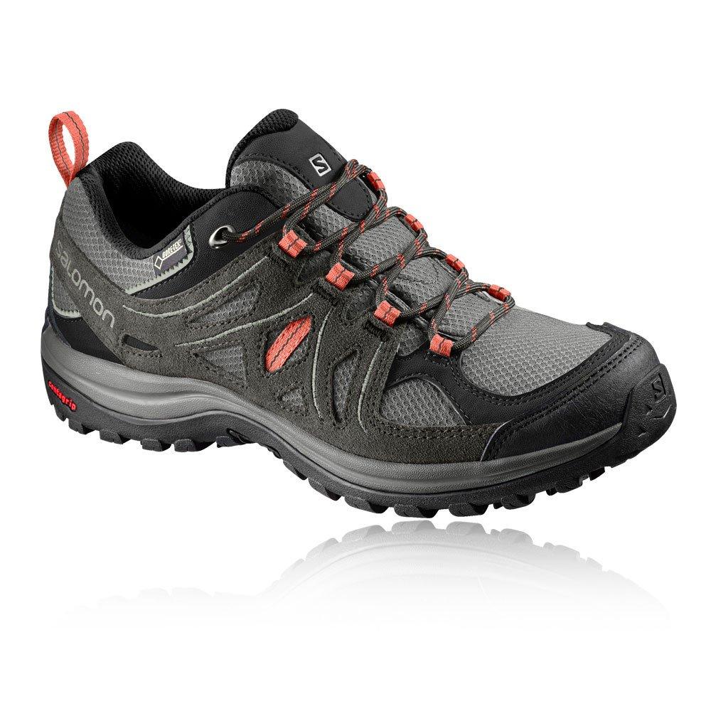 Salomon Damen Ellipse 2 GTX W Trekking- & Wanderhalbschuhe schwarz 36,5 EU