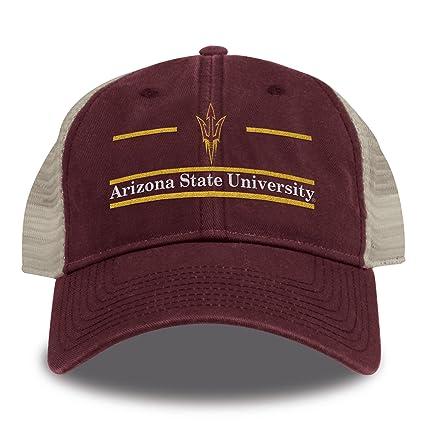 a5b64f6c413 Buy The Game NCAA Arizona State Sun Devils Split Bar Design Trucker Mesh Hat