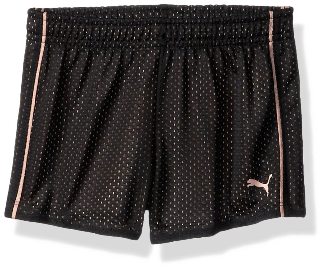 PUMA Toddler Girls' Core Mesh Shorts Black, 2T