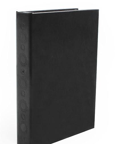 Espionaje de cámara oculta en anillo libro con sensor PIR y visión nocturna Spy Cam,
