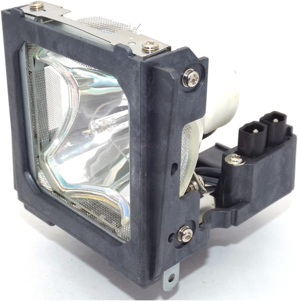 Projector Lamp Assembly with Genuine Original Ushio Bulb Inside. AN-C55LP Sharp Projector Lamp Replacement