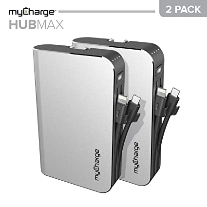 Amazon.com: myCharge HubMax 10050 mAh (2 unidades) Cargador ...