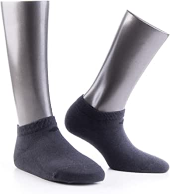 Bonny Silver Low Cut Socks for Women and Men Antibacterial Anti - Odor Mens Womens No Show Ankle Socks 13% Pure Silver